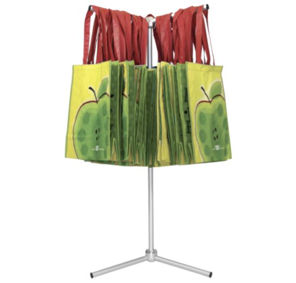 trade show bag holder